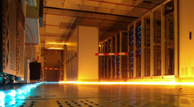 rack d'un data center